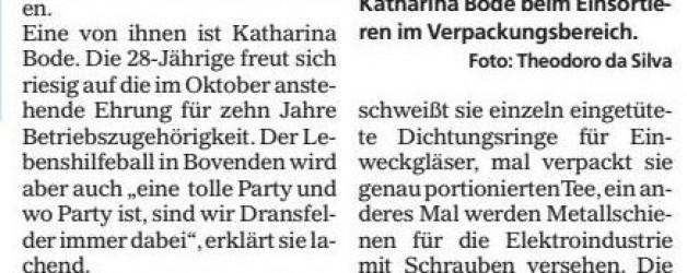 Mündener Rundschau, 13.06.2016: Göttinger Werkstätten gewähren Einblicke