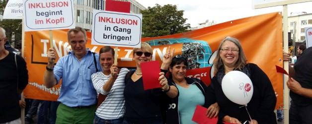 Demo gegen Bundesteilhabegesetz in Hannover